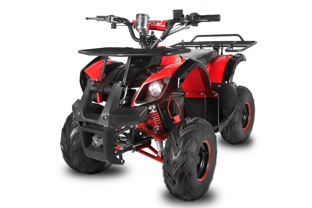 Квадроцикл с электродвигателем