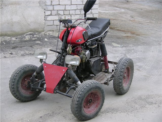 Лодочный мотор из мотокосы своими руками 414