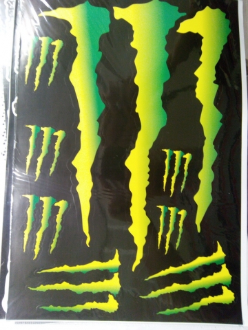Наклейки на мотоцикл MONSTER ENERGY 11