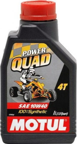 Моторное масло Motul Power Quad 4T 10W-40 (1 литр)